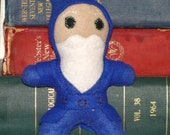 Plush Toy Wizard: Blue