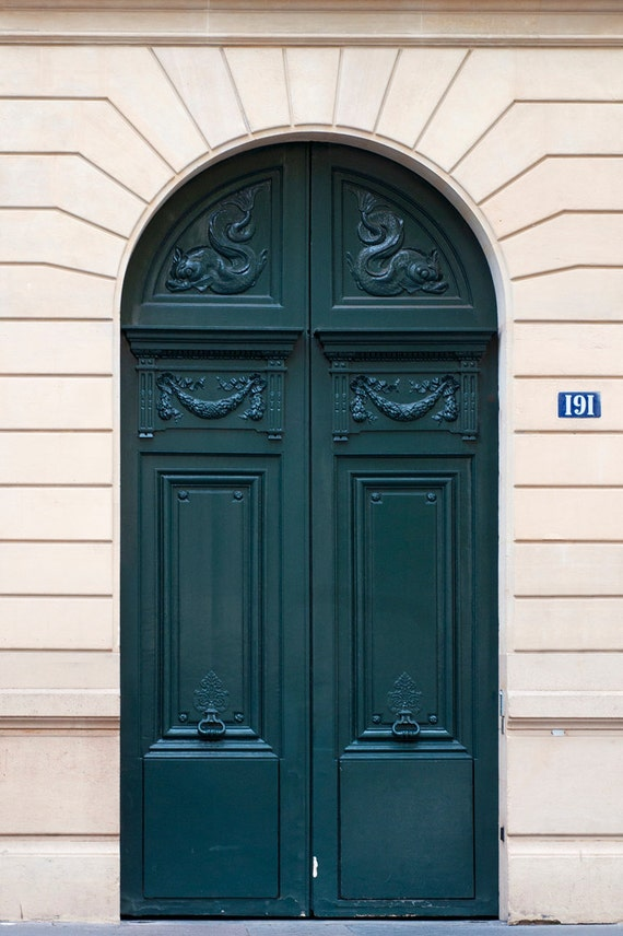 Like this item? & Paris Photo The Green Door Architectural Fine Art