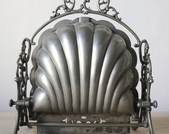 ViCTORIAN Silver Plated Folding Biscuit Box // End of the 19th century // England