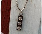 Crystal Stick Necklace