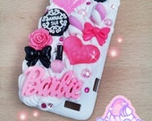USE YOUR CABOCHONS - Kawaii decoden case for iPhone 4, Samsung, Htc, Android, iPod, Nintendo