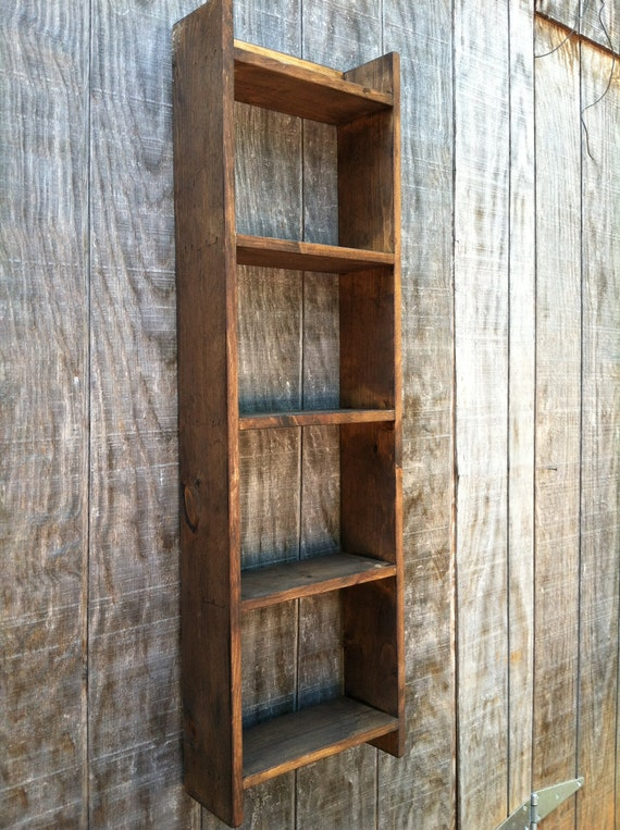 Hanging shelf Wooden towel Shelf Stand by RaysCustomWoodwork