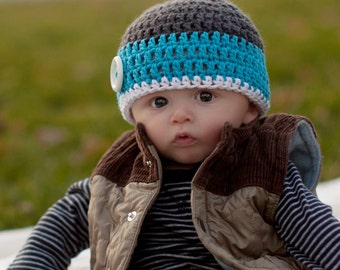 boys winter hat, baby hat, boys hat, crochet boys hat, baby boys hat, crochet kids hat, winter hat for boys, baby boy hat, crochet baby hat