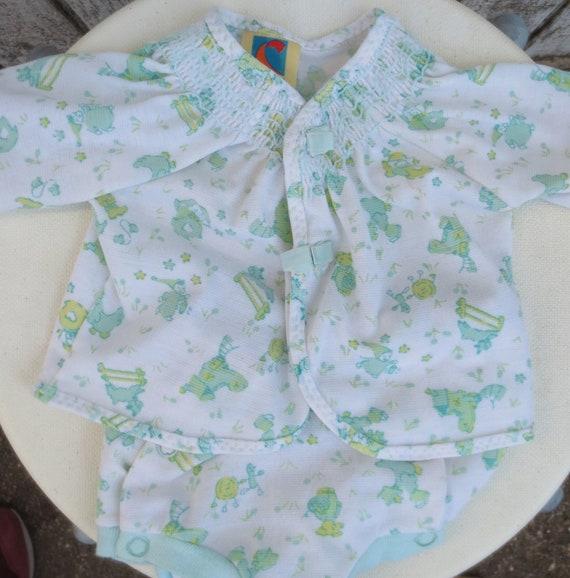 vintage 70 s baby clothes layette newborn clothes nursery