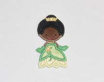 Iron on Sew on Cutie Frog Princess Applique Patch