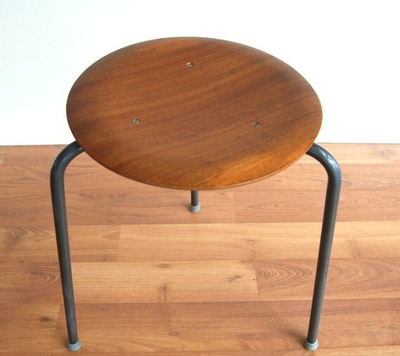 Arne Jacobsen Teak Stool 3 Available