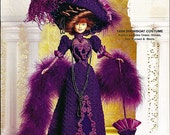 1899 Showboat Costume Crochet Collector Costume Volume 16 Fashion Doll  Crochet Pattern