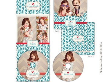 INSTANT DOWNLOAD - Luxe Dvd Case and Dvd label - Everything Love - E620