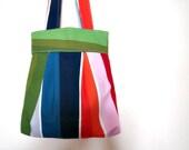 RAINBOW tote bag Multicolored happy bag Summer trendy bag Beach bag / Weekender Bag / Diaper Bag