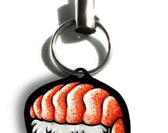 Shrimp Sushi Phone Charm