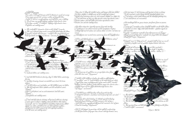 The three black crows poem summary