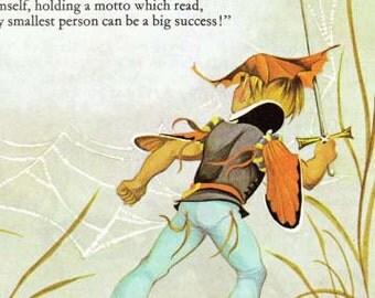 Tom Thumb / Hansel and Gretel - Vintage Illustration Storybook Print - Deans A Book of Fairy Tales - Paper Ephemera