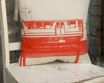 Chicago Red Line Pillow