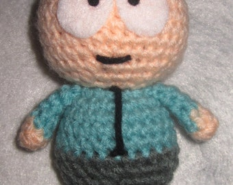 Adorable crochet Amigurumi South Park Butters