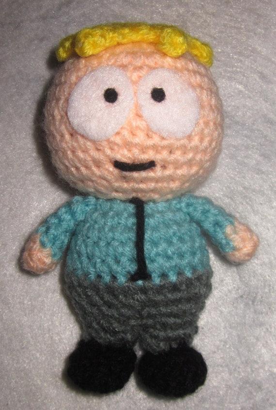 Amigurumi Cartman : Adorable crochet Amigurumi South Park Butters