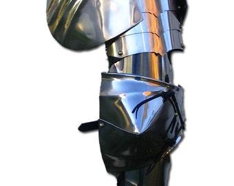 New pair of Medieval pauldron Warrior stainless steel Armor Larp SH18