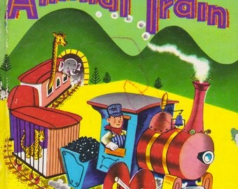 Animal Train by Elizabeth Roberts, illustrated by Ben D. Williams