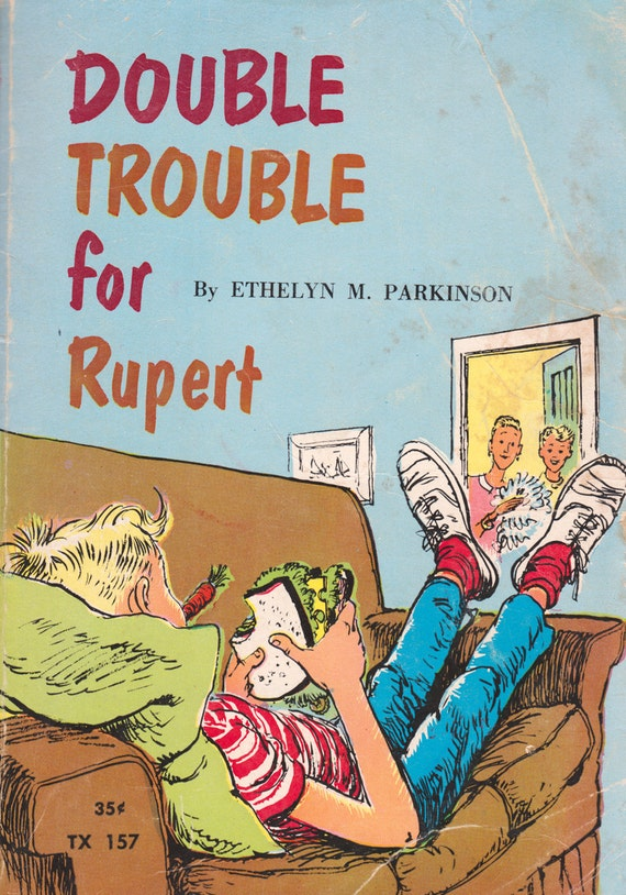 Double Trouble for Rupert by Ethelyn M. Parkinson, illustrated by Mary Stevens