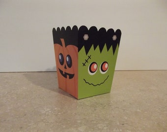 Halloween Party Favor Boxes (Set of 8)
