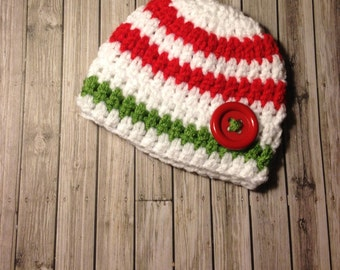 Newborn Christmas Beanie Hat