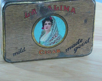 La Palina Mild Cigars- Senators Metal Tin - MG-054