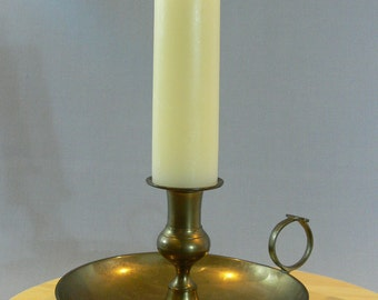 Large - Brass Candle Holder - Vestiesteam -  MG-141