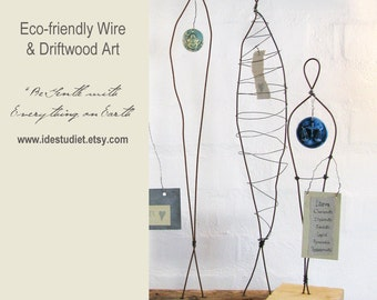 150 Dollar Gift Card - Gift Certificate - Wire Sculptures and Driftwood Art by Idestudiet on Etsy