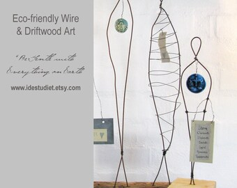 200 Dollar Gift Card - Gift Certificate - Wire Sculptures and Driftwood Art by Idestudiet on Etsy
