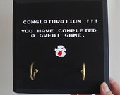 Great for HALLOWEEN. The comically misspelled Conglaturation - 8 Bit Art from Retro Game Ghostbusters