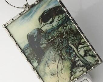 Night Light Crows - Nightlight Ravens - Crows in a Tree - Bedroom Lighting - Fairytale - GOTH N25