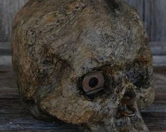 Corpse Head Skull Horror Halloween Steampunk