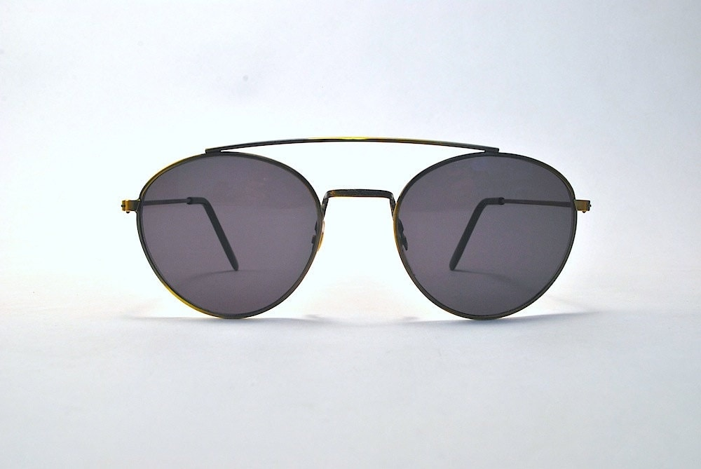 vintage john lennon style french round sunglasses. Black Bedroom Furniture Sets. Home Design Ideas