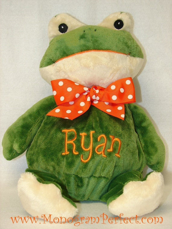"Ryan 14"" Frog Plush Soft Toy Stuffed Animal"