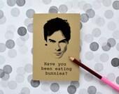 Damon Salvatore notebook - the Vampire diaries  Ian Somerhalder homemade journal