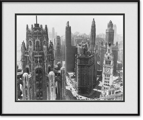 Vintage Chicago Art Photography Black Amp White By Horschgallery
