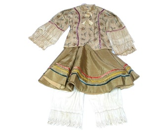 Antique Italian Theatre Costume - Antique Kid Costume - 1920s, 20s