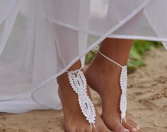 pies boda playa