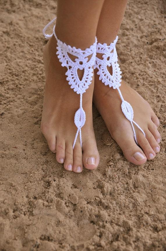 Вверху украшения для ног для