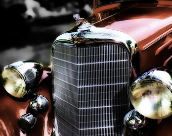 Classic Car Photo - 1934 Doge - Retro - Home Decor - Office Decor - Gift Idea for Men - Classic Car Art - Gifts for Guys