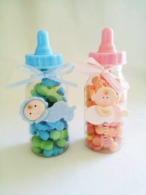 baby shower party favor baby bottle party favor baby girl party