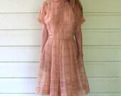 Nude 1950's Dress