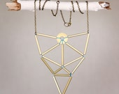 golden laws of geometry necklace