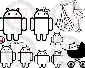 Android Family Decal (Individual members)