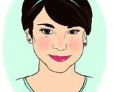 Quickie Illustrated Portrait