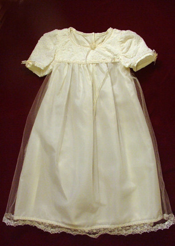 Christening/baptism/blessing gown