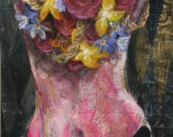 Flashy Flowers Art Print