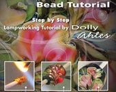 Watercolor Floral Bead Tutorial - Step by Step Lampworking Tutorial DVD by Dolly Ahles Palmer