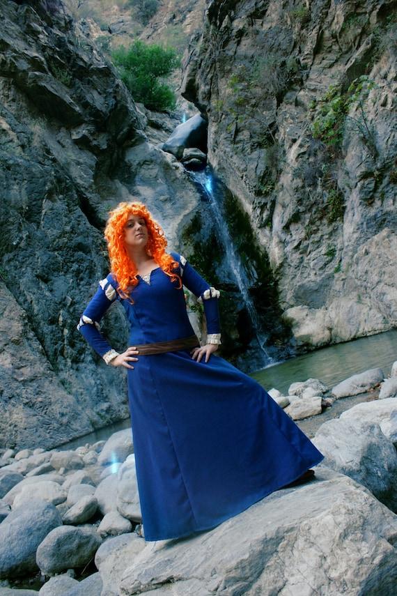 Adult Princess Merida (Brave) Cosplay Costume