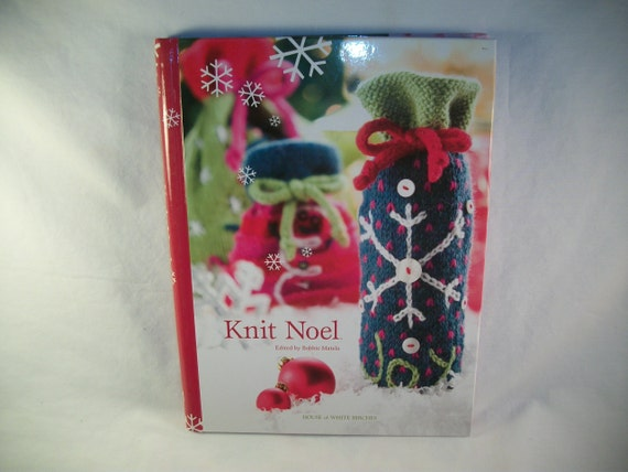 Needle Crafts Knitting Pattern Book KNIT NOEL by Bobbie