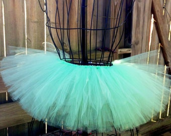 Adele Tutu - Mint Tutu - Neon Tutu - Available in Infant, Toddlers, Girls, Teenager, Adult and Plus Sizes